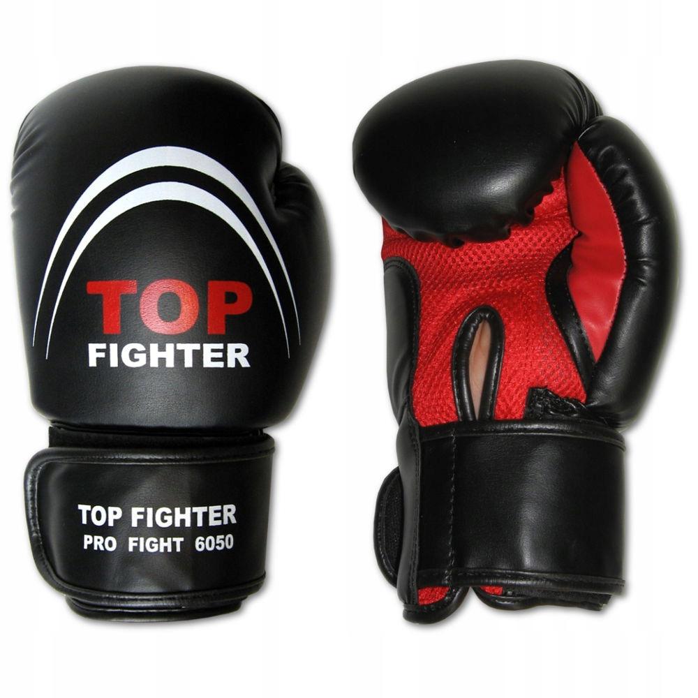 TOP FIGHTER RĘKAWICE BOKSERSKIE WENTYLOWANE - 12oz