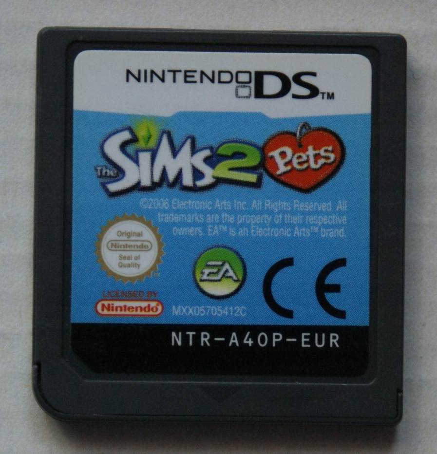 Gra The SIMS 2 Pets Zwierzaki Nintendo DS NDS