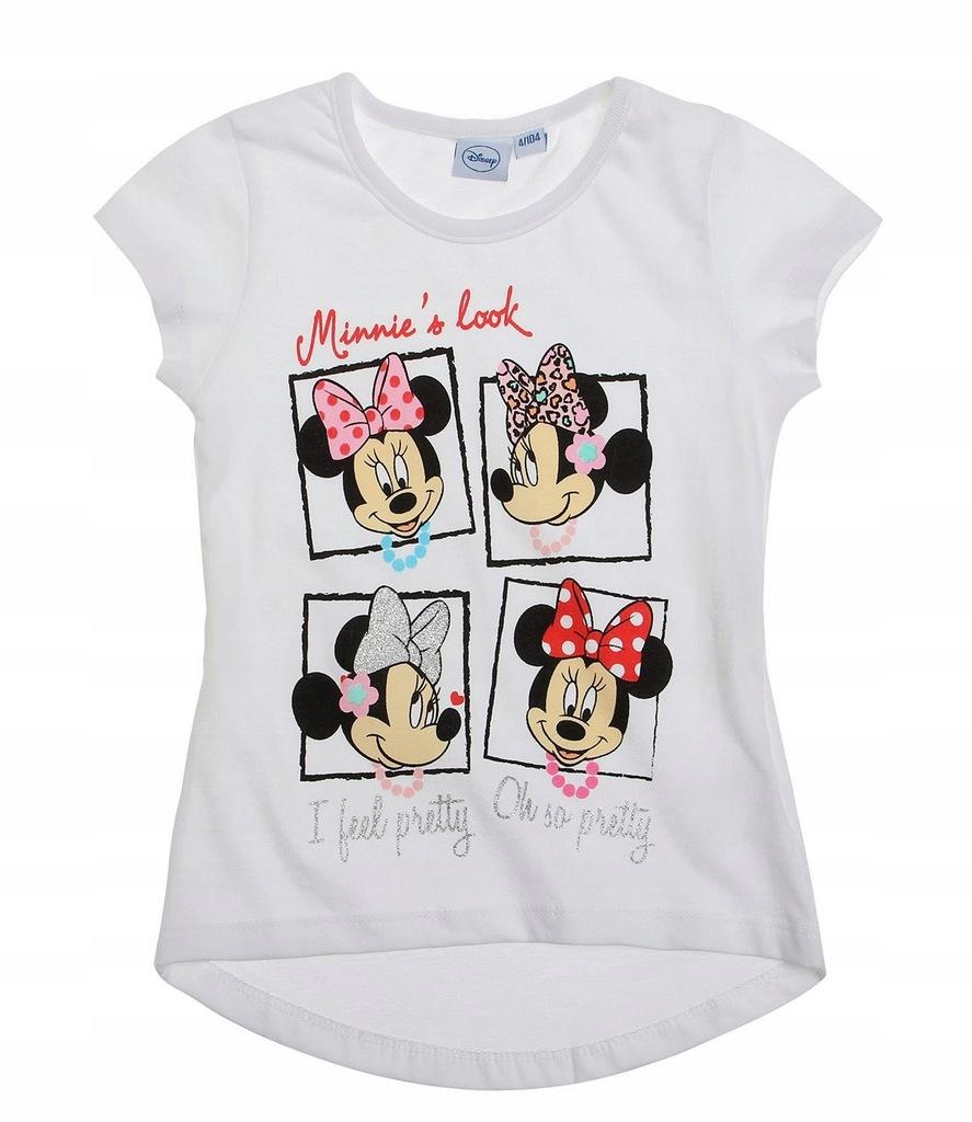 Myszka Minnie śliczna koszulka 92 t-shirt Disney
