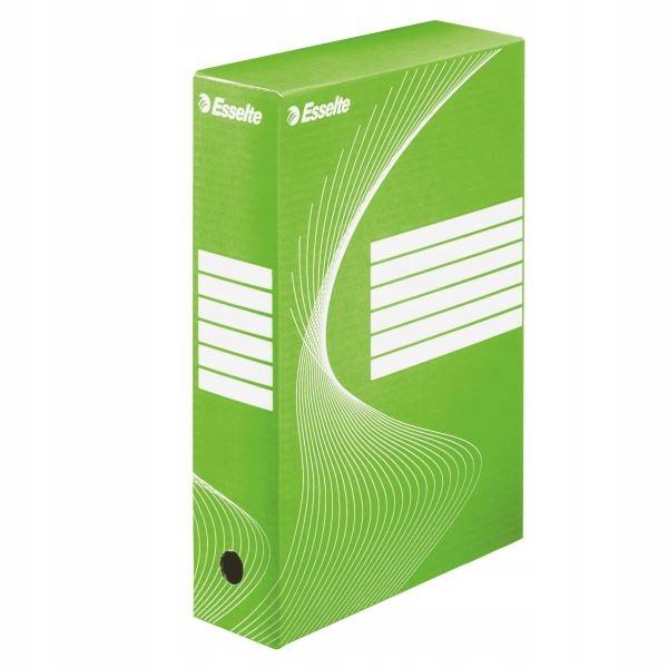 Pudełko archiwizacyjne ESSELTE boxy 80mm zielone