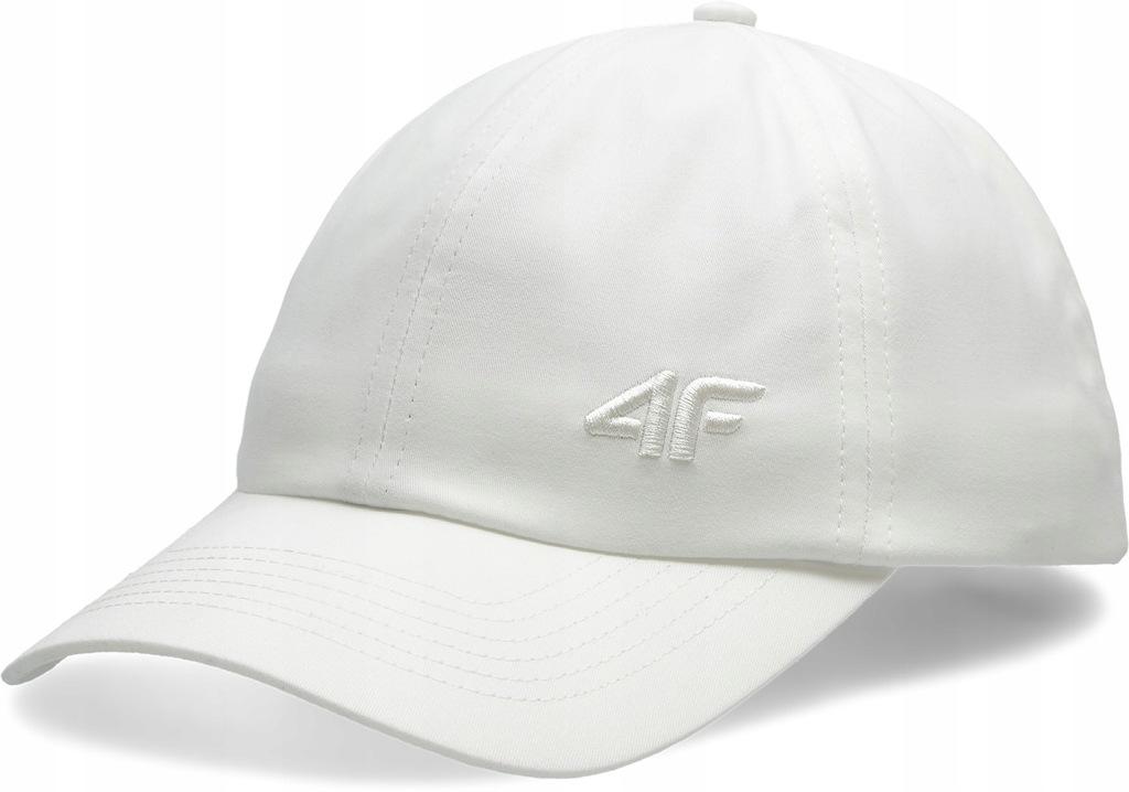 Czapka z daszkiem sportowa 4F CAD008 biała L/XL
