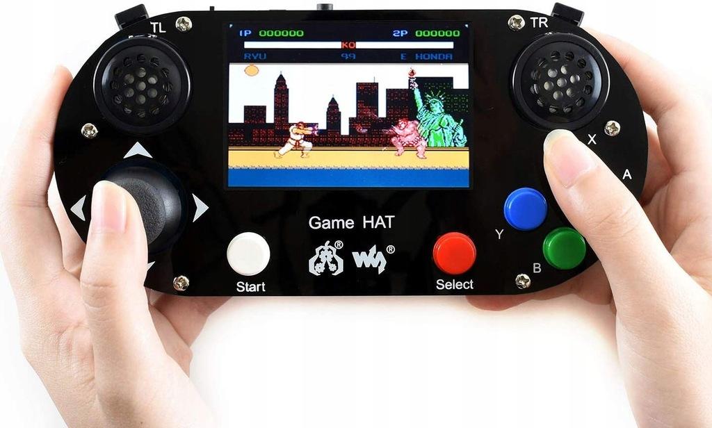 Waveshare Game HAT dla Raspberry Pi A+/B+/2B/3B/3B