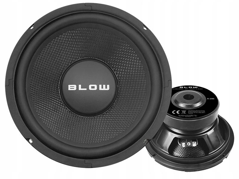 Głośnik BLOW A200 8'' 300W NISKOTONOWY WOOFER BAS