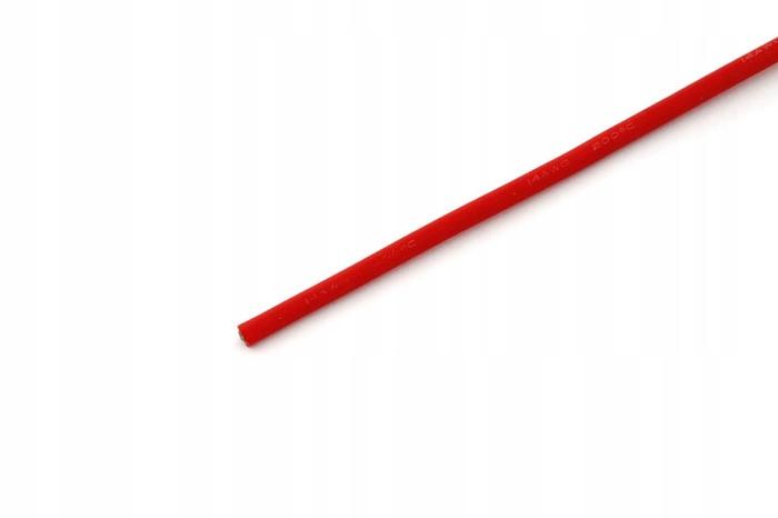 Przewód silikonowy 2,0 mm2 (14AWG) (czerwony) 1m.