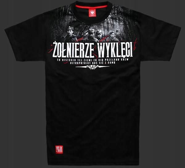 Koszulka Meska Zolnierze Wykleci M 7700354388 Oficjalne Archiwum Allegro