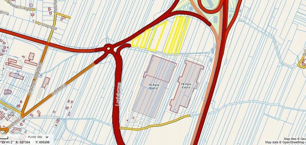 Działka, Chęciny, Chęciny (gm.), 19337 m²