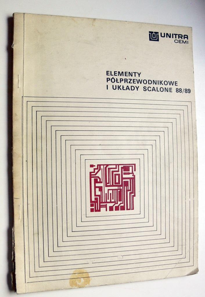 Katalog UNITRA CEMI UKŁAD SCALONY