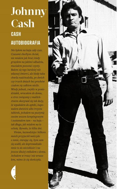 Cash autobiografia Johnny Cash Czarne