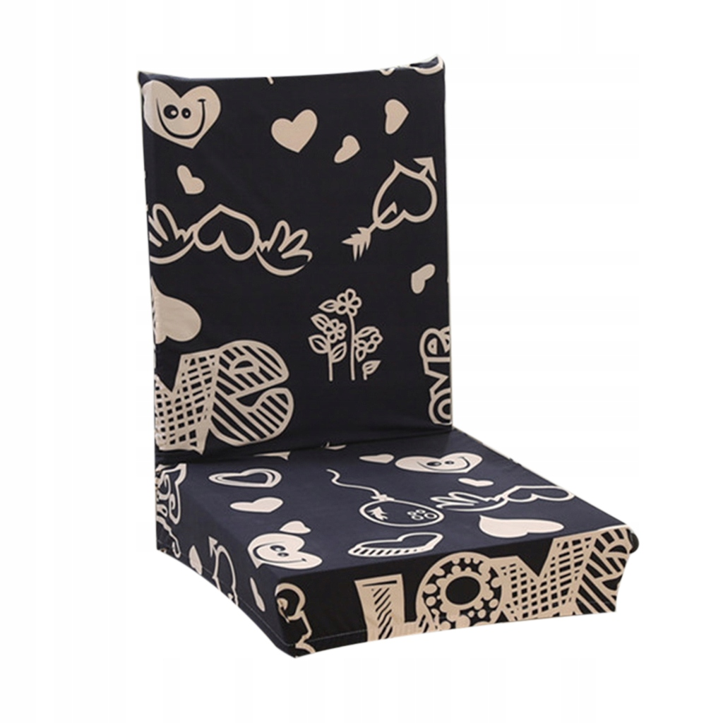 Rozciągliwy pokrowiec na krzesło Wielu kolorów