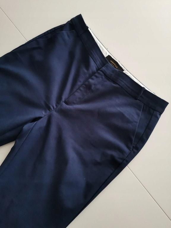 RESERVED spodnie materiałowe 42 (XL)