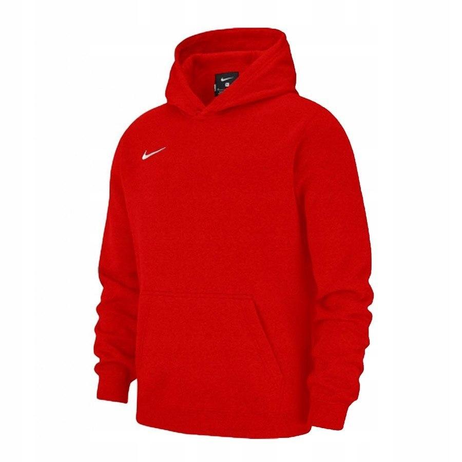 Bluza Nike Hoodie AJ1544 XL (158-170cm) czerwony