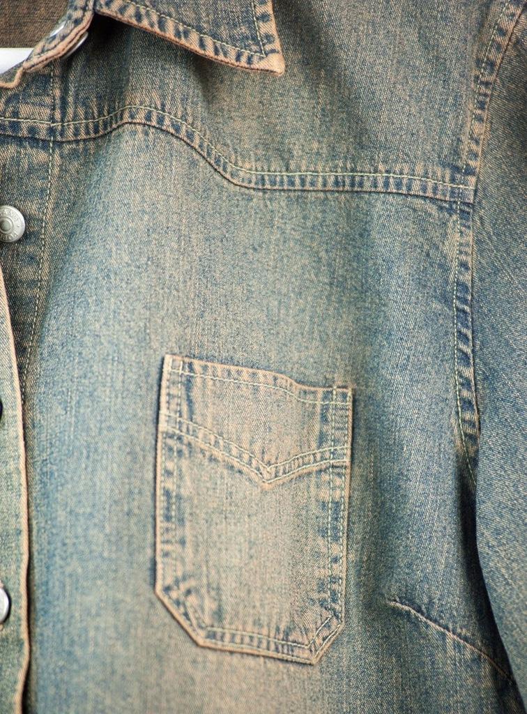Damska koszula jeansowa vintage marki Popin klaer  dpMuE