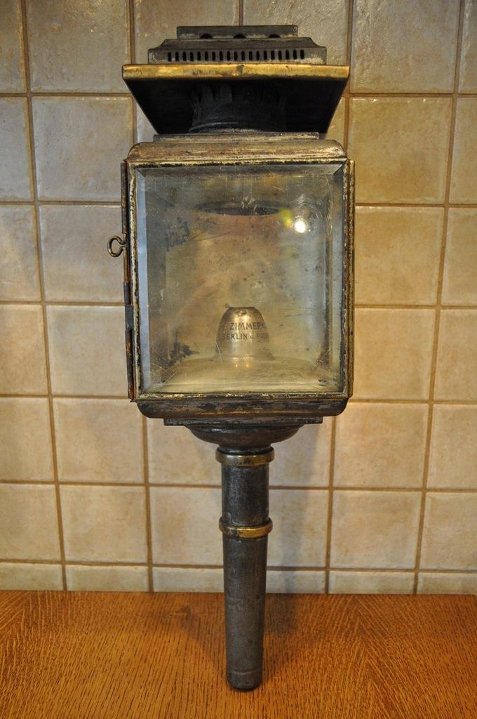 XIX-XXw POWÓZ BRYCZKA LAMPA ZIMMERMANN BERLIN 9444