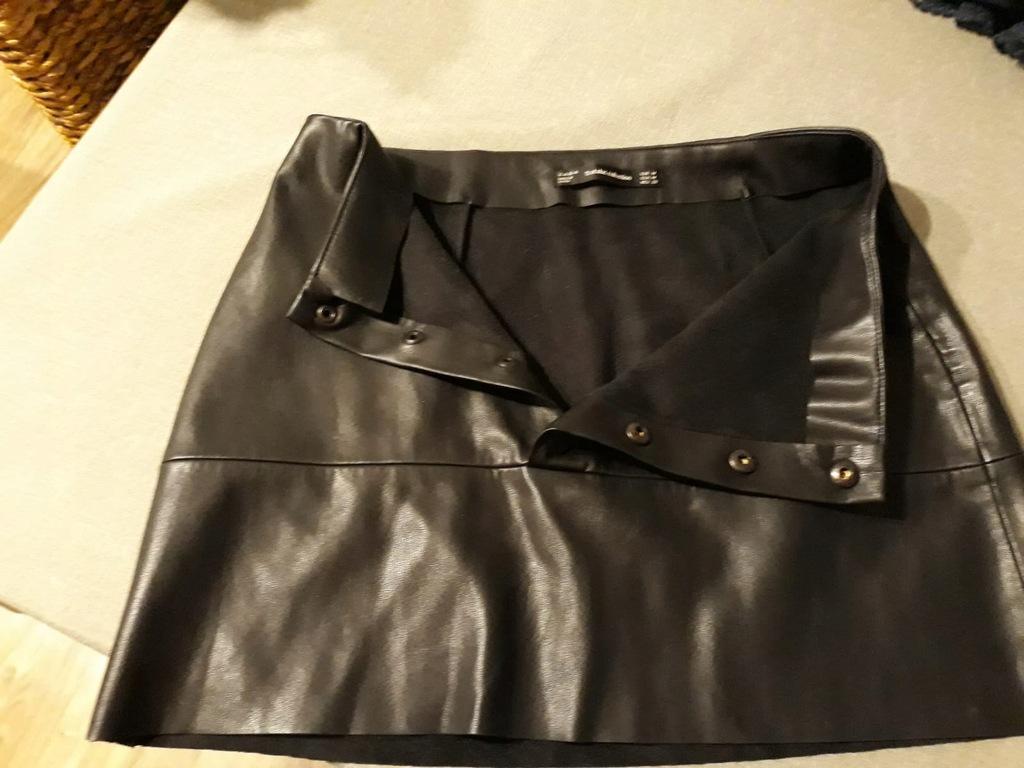 Spódnica Eco skóra Zara roz 38