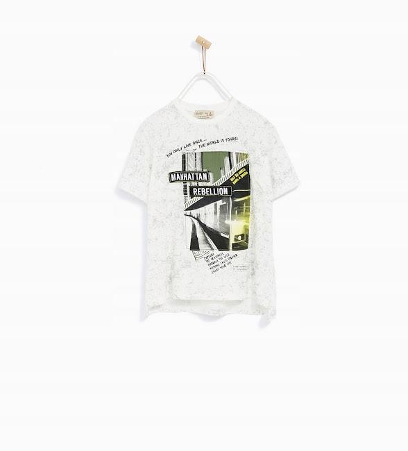 ZARA 128 t-shirt Manhattan GRATIS ZARA STAR WARS