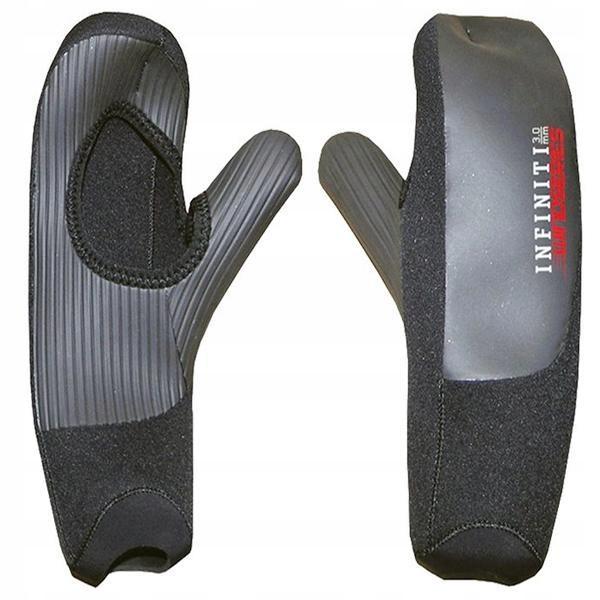 Rękawiczki XCEL Wind 1 Palec 3mm - Black - S