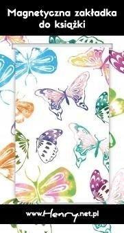 Zakładka magnetyczna - Motyle