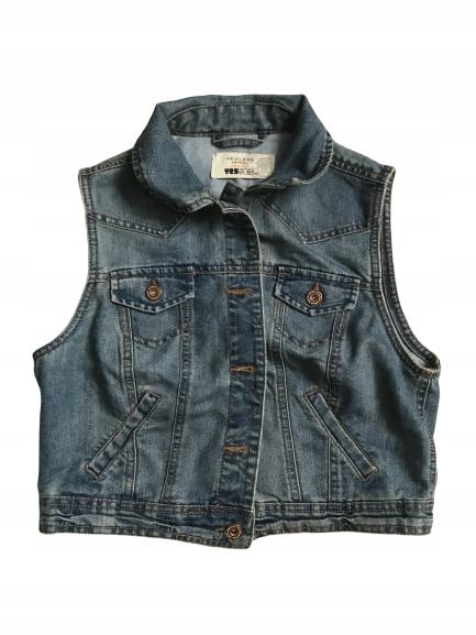 NEW LOOK___KATANA jeans kamizelka___42 XL