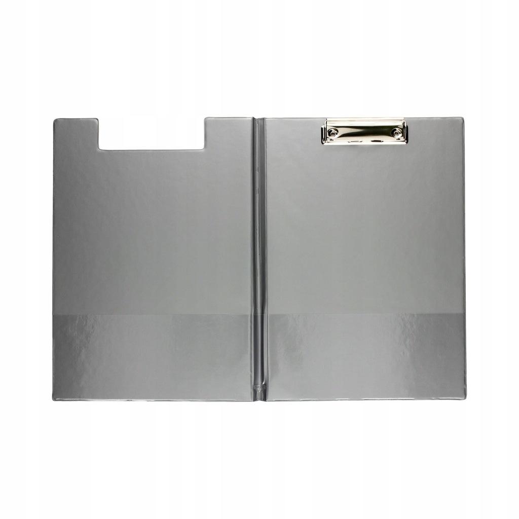 Deska z klipem i okładką Biurfol A4 srebrny