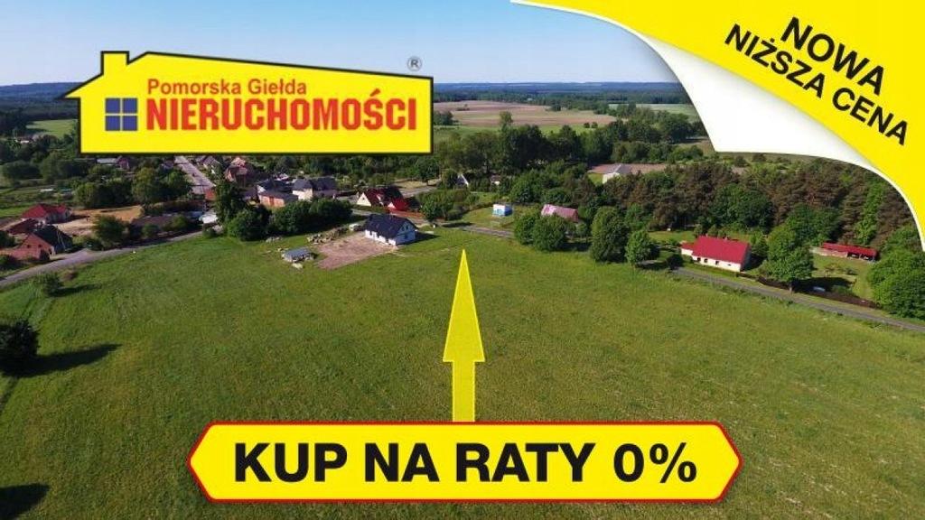Działka Tychowo, białogardzki, 3461,00 m²