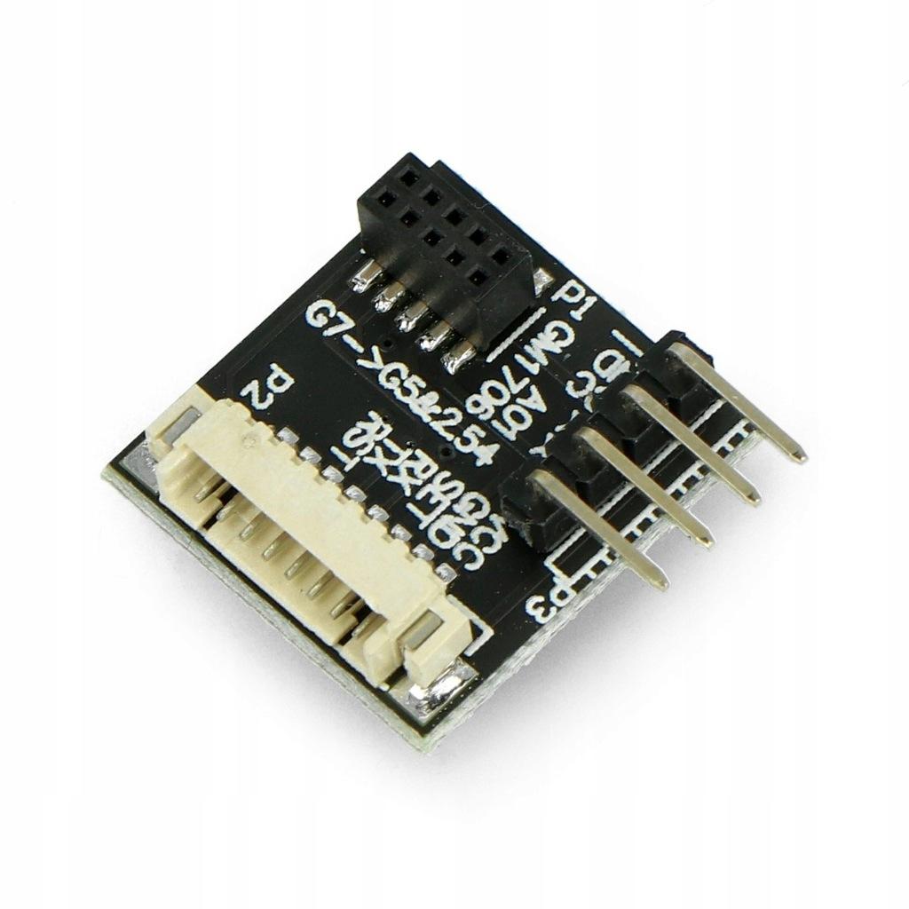 Adapter IDC - JST 1,25mm + złącza dla PMS7003