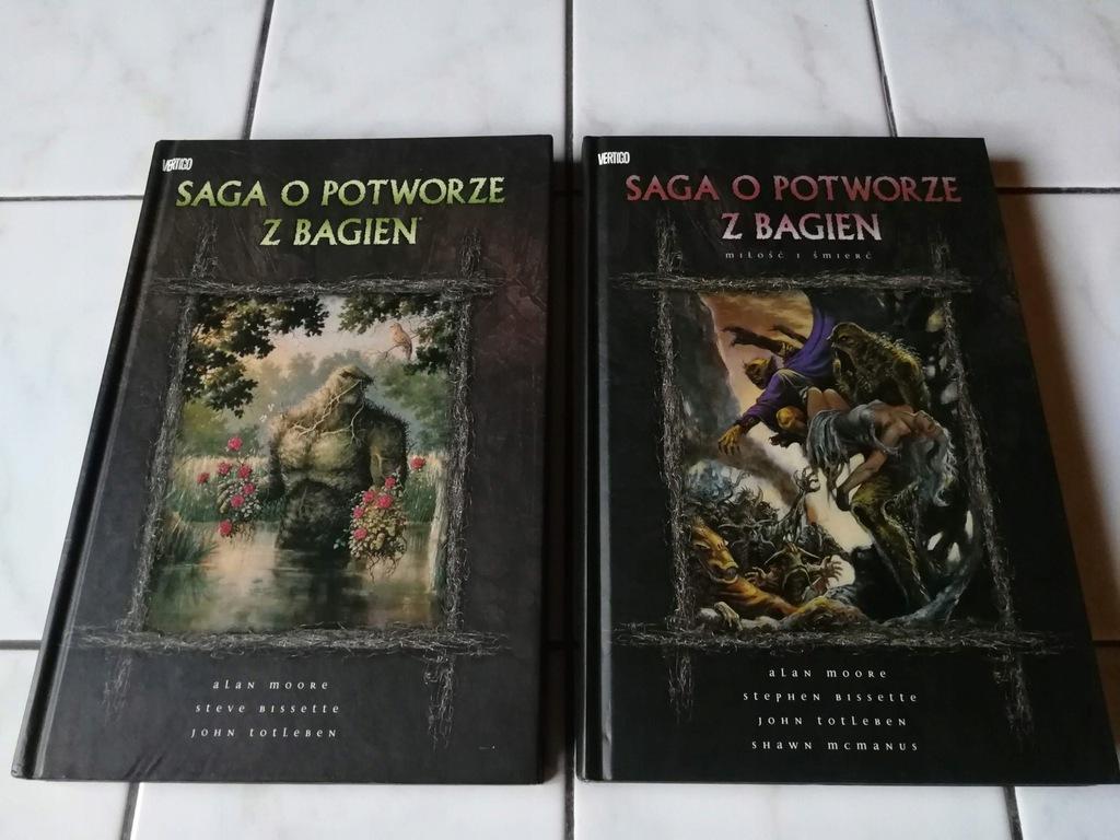 Alan Moore - Saga o Potworze z Bagien (1 wydanie)