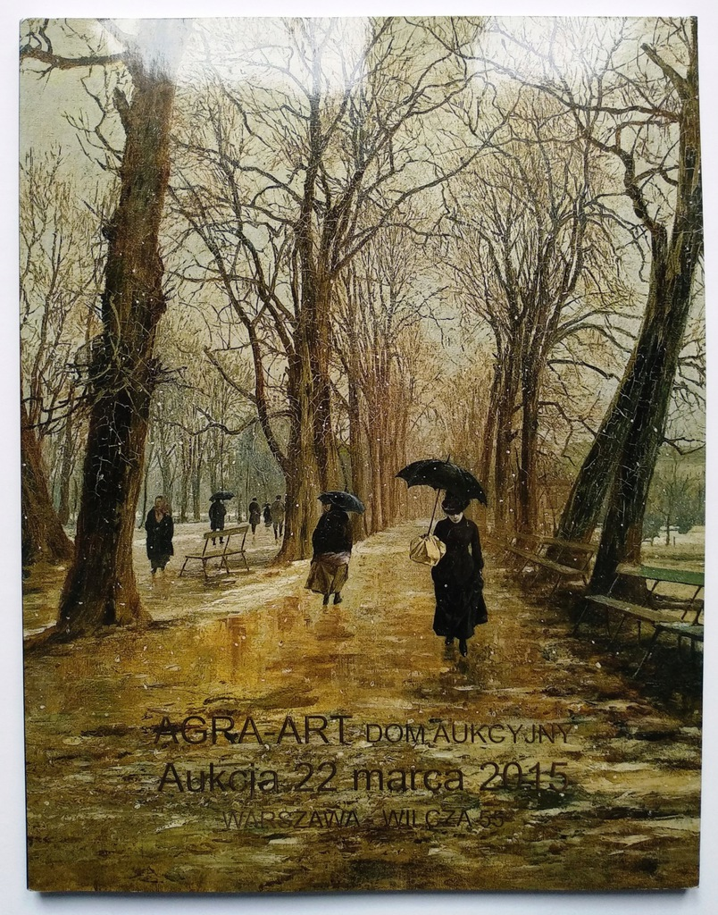AGRA-ART – katalog aukcji dzieł sztuki 22.03.2015