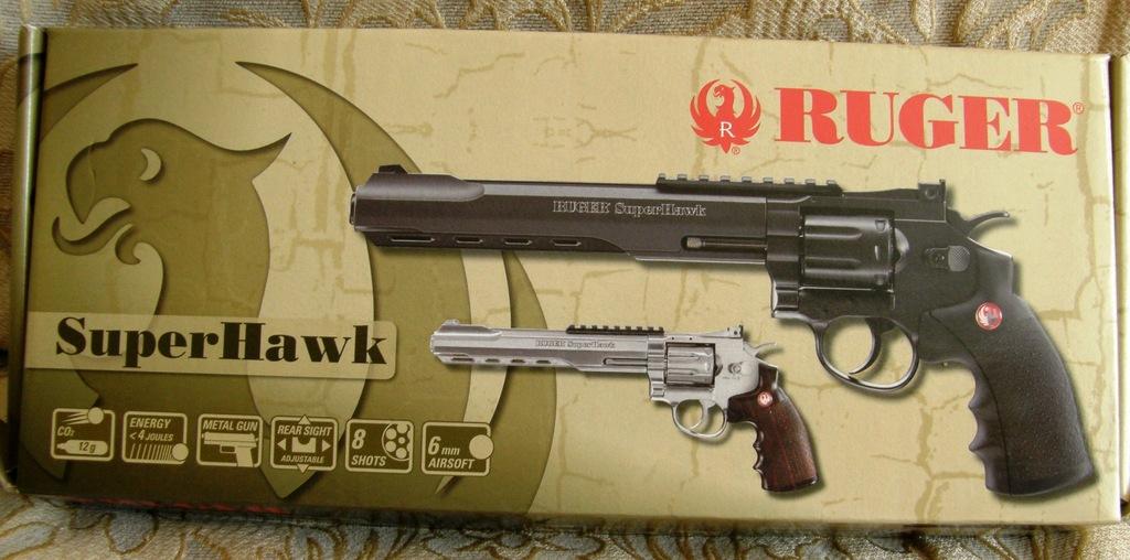 "Replika rewolweru RUGER Superhawk 6"""
