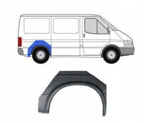 Reperaturka błotnika tył Ford Transit 91-94 Prawa
