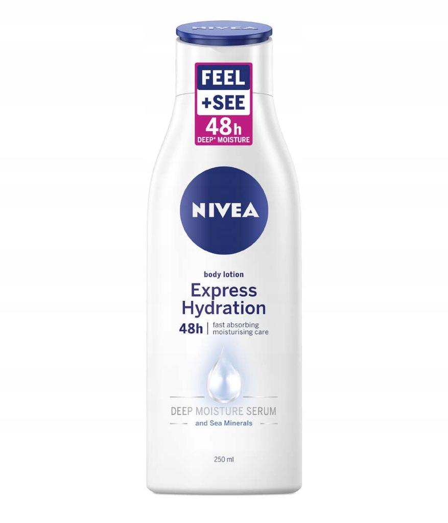 NIVEA Szybko nawilżający balsam do ciała 250ml