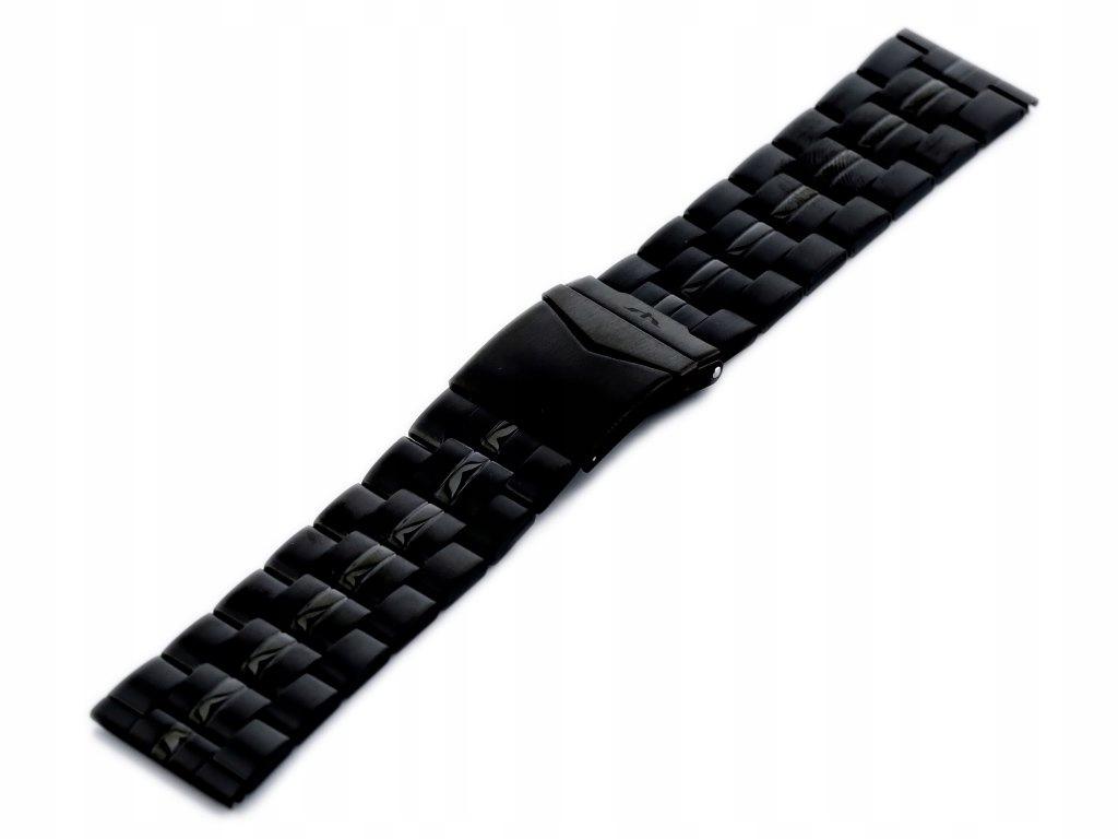 Bransoleta Bisset - czarna 26mm