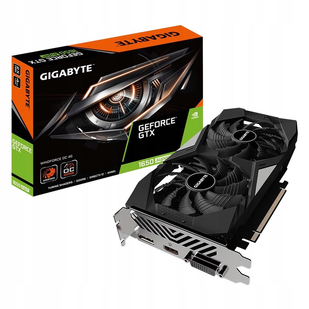 Gigabyte GeForce GTX 1650 SUPER WINDFORCE OC 2X