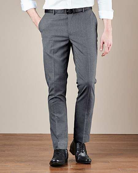 Williams&Brown SE68228 Spodnie Garniturowe 44