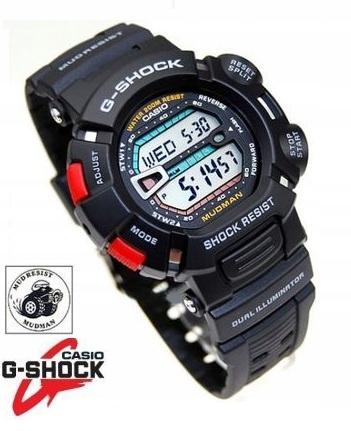 CASIO G-9000 1V DO SZKOŁY G-SHOCK MUDMAN WR200M