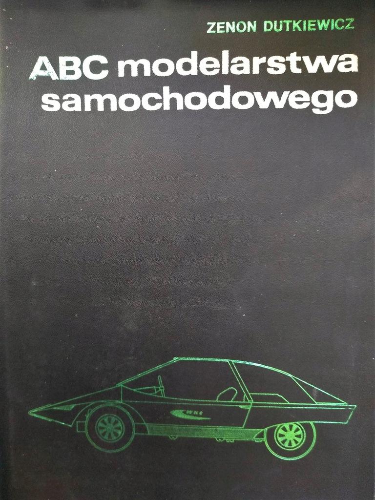 ABC MODELARSTWA SAMOCHODOWEGO 1 WYD 1971 8 X PLANY