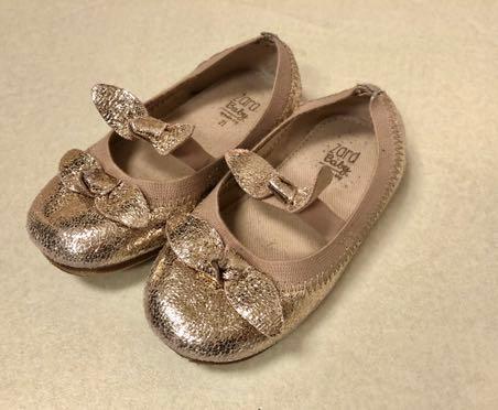 Baletki baleriny 21 zara baby złote wesele J.NOWE