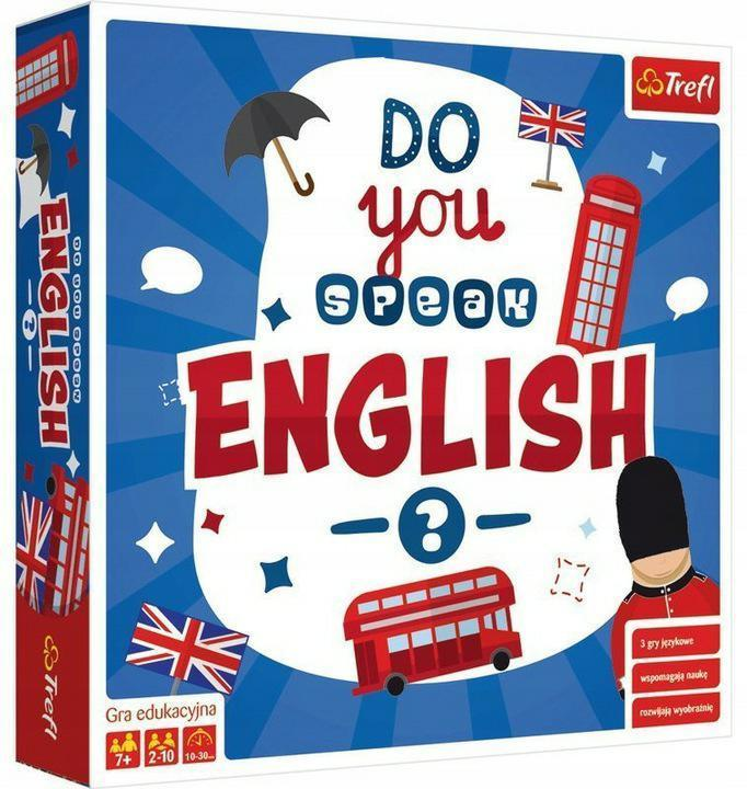 GRA EDUKACYJNA DO YOU SPEAK ENGLISH? TREFL 01732