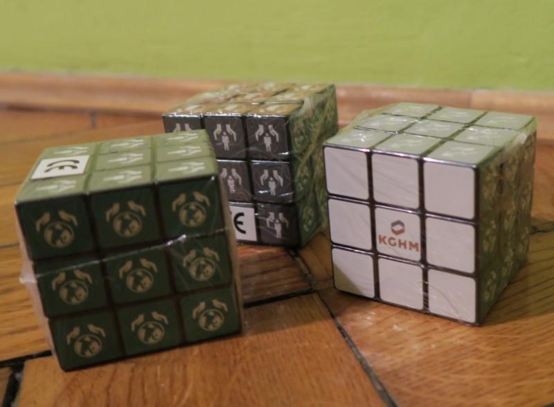 """Energetyczna kostka """"Rubika"""" od KGHM nr 2"""