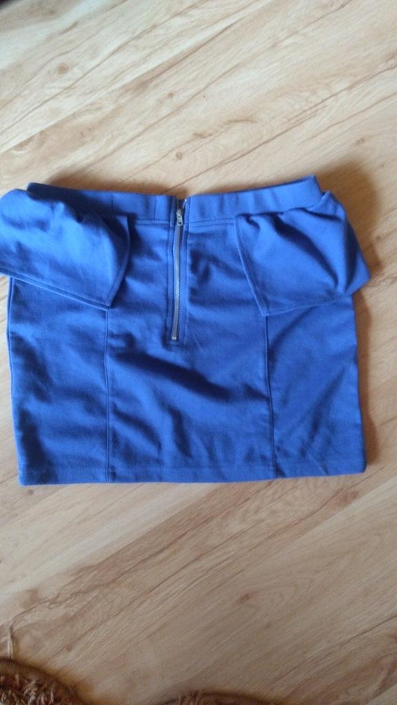Cropp Dresowa spódnica z kieszeniami Szary Ceny i