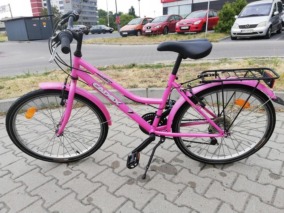 """Rower dla dziewczynki koła 24"""""""