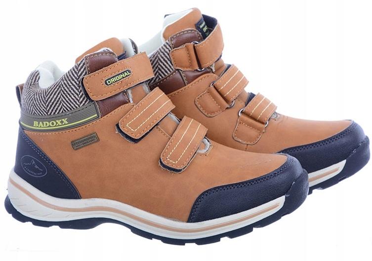 Buty Zimowe Timberki Chłopięce LXC7610 Brązowe 37