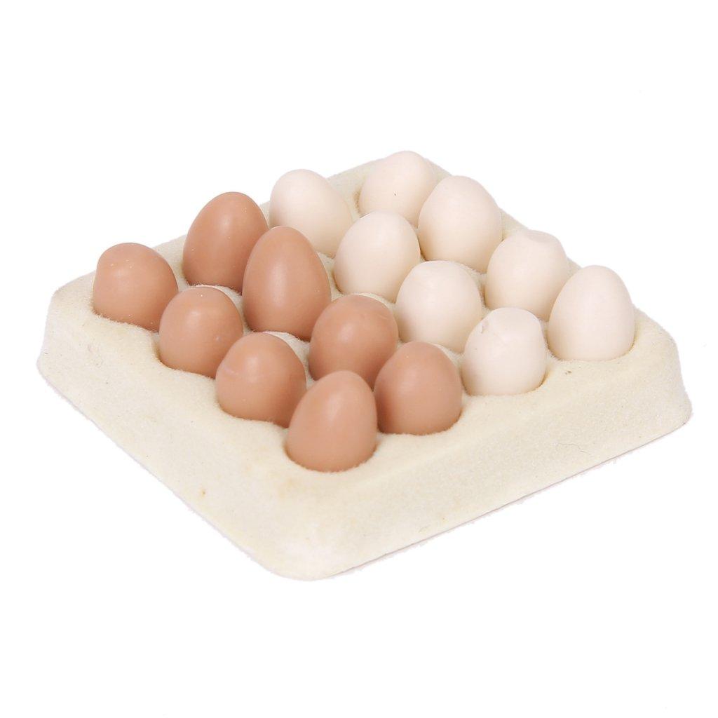 Miniaturowe Jedzenie Mini Zywnosc Jajka 16szt 1 12 7201798637 Oficjalne Archiwum Allegro