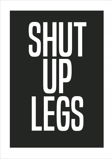 Plik PDF do druku SHUT UP LEGS