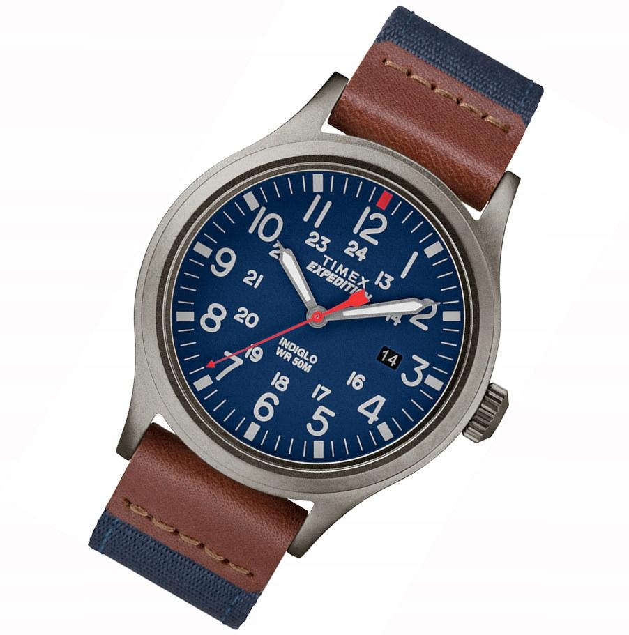 TW4B14100 zegarek męski na pasku Timex Expedition
