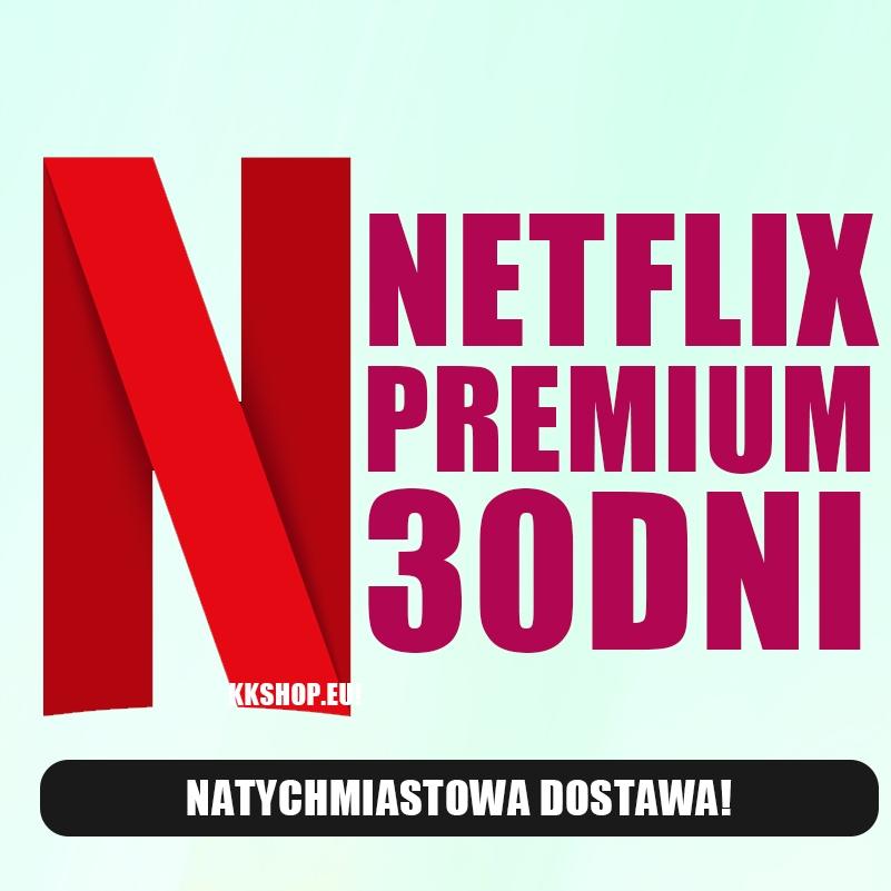 Netflix Premium 30 Dni Polskie Konto Automat 8948345517 Oficjalne Archiwum Allegro