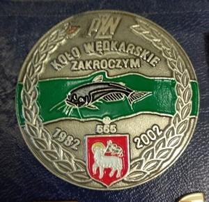 Odznaka Wędkarska PZW Zakroczym 2002