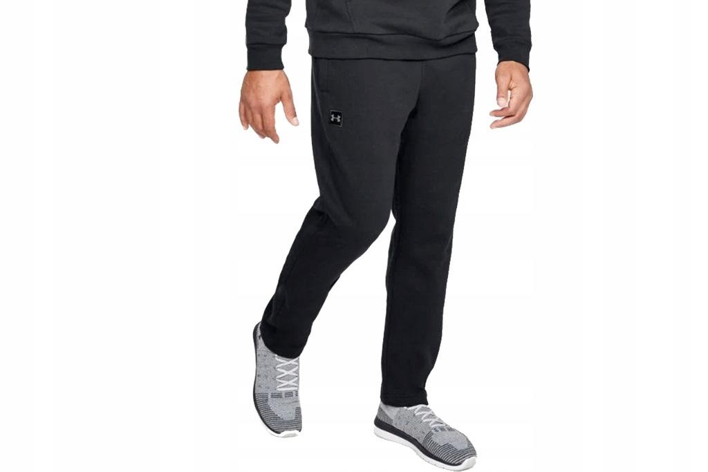 UNDER ARMOUR RIVAL FLEECE PANTS ~L~ Męskie Spodnie