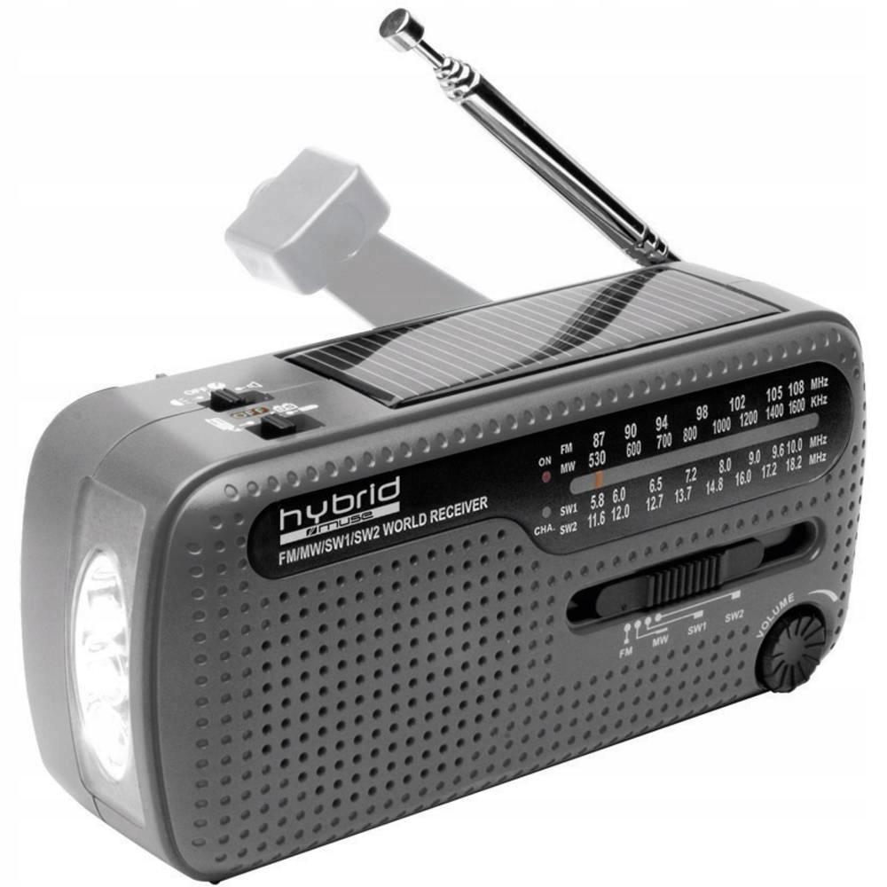 Radio przenośne FM AM Muse dynamo solar