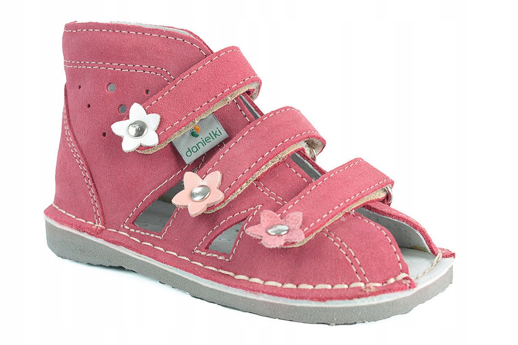 Danielki S124 profilaktyczne obuwie malina R27