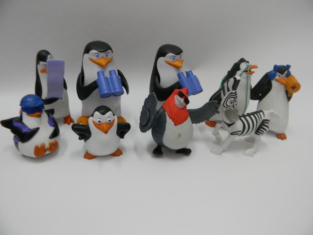 Zabawki Figurki Madagaskar Pingwiny Zebra 7358375968 Oficjalne Archiwum Allegro